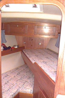 Forepeak (Forward Cabin)
